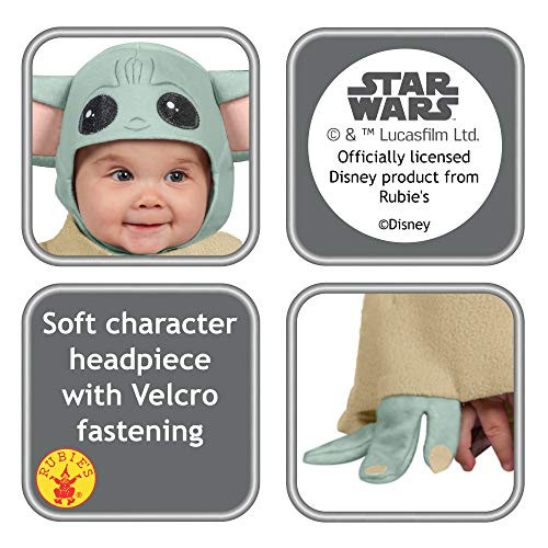 Rubies Baby Star Wars The Mandalorian The Child Costume, As