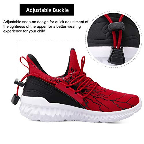 Spesoul Kids Fashion Sneakers Outdoor Lightweight Breathable