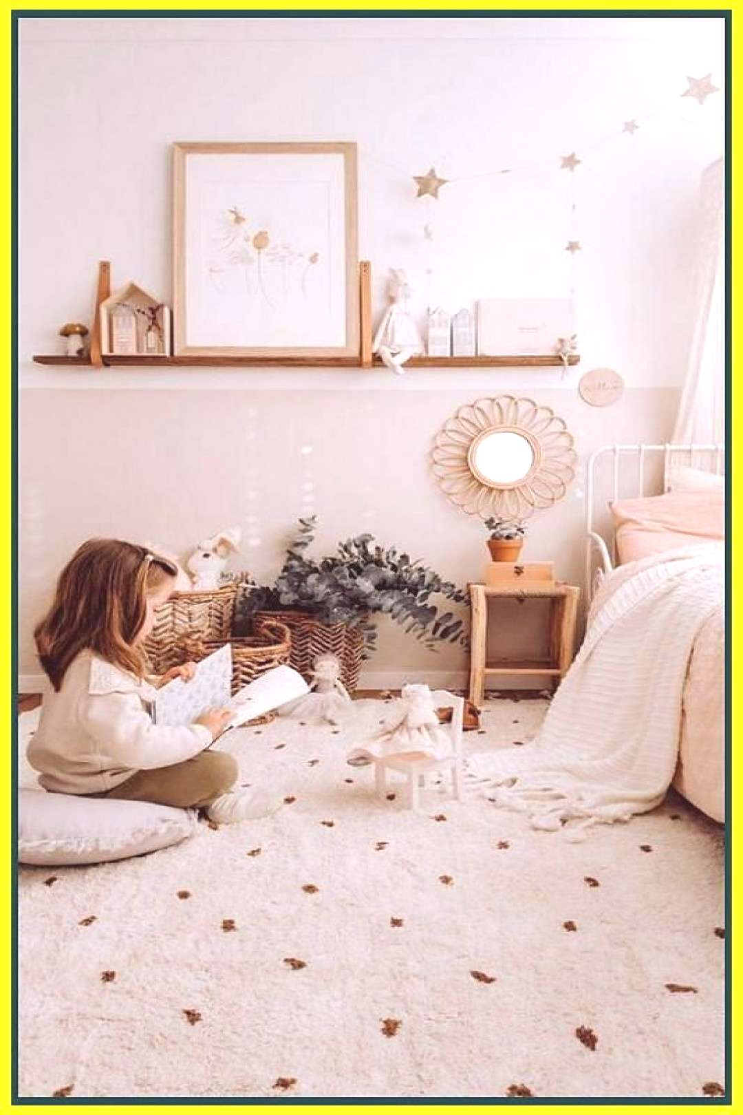 Sweet vintage bedroom ideas to make full happy childhood 1 | Vintage Bedrooms | Shabby Chic H... Sw