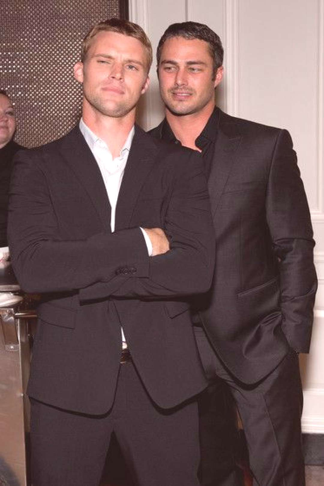 Taylor Kinney Photos - (EXCLUSIVE COVERAGE) Jesse Spencer (L) and Taylor Kinney attend NBCs quotChica