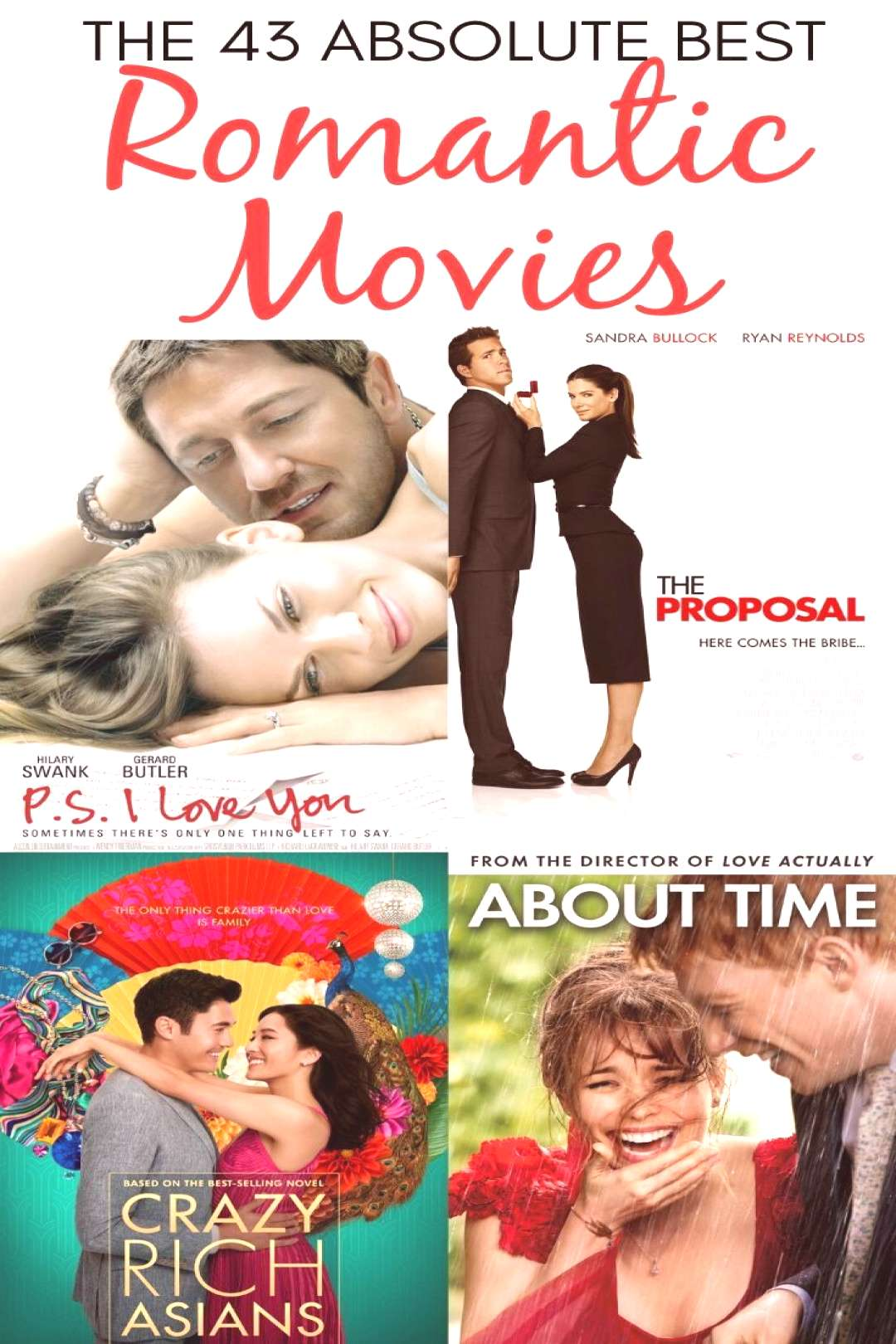 The 43 Best Romantic Movies (amp 5 to Avoid!) The best Romantic Movies of all time for an epic movie