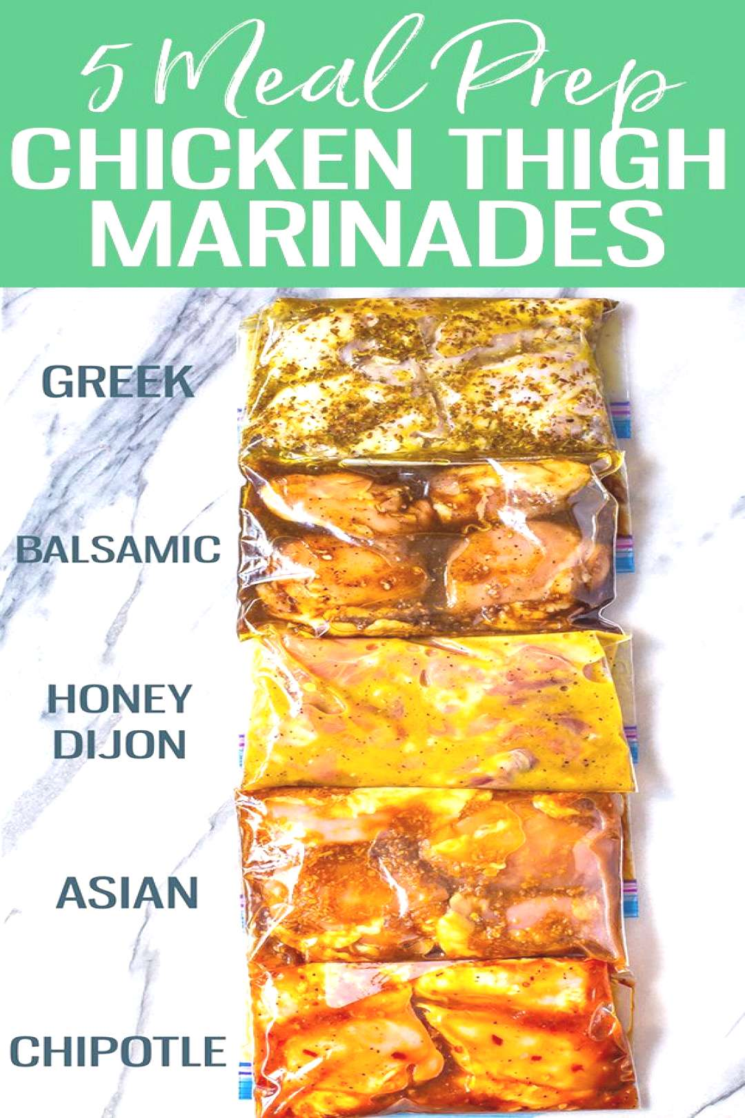 These Delicious Chicken Thigh Marinades are perfect for boneless, skinless chicken. Try Asian, Chip