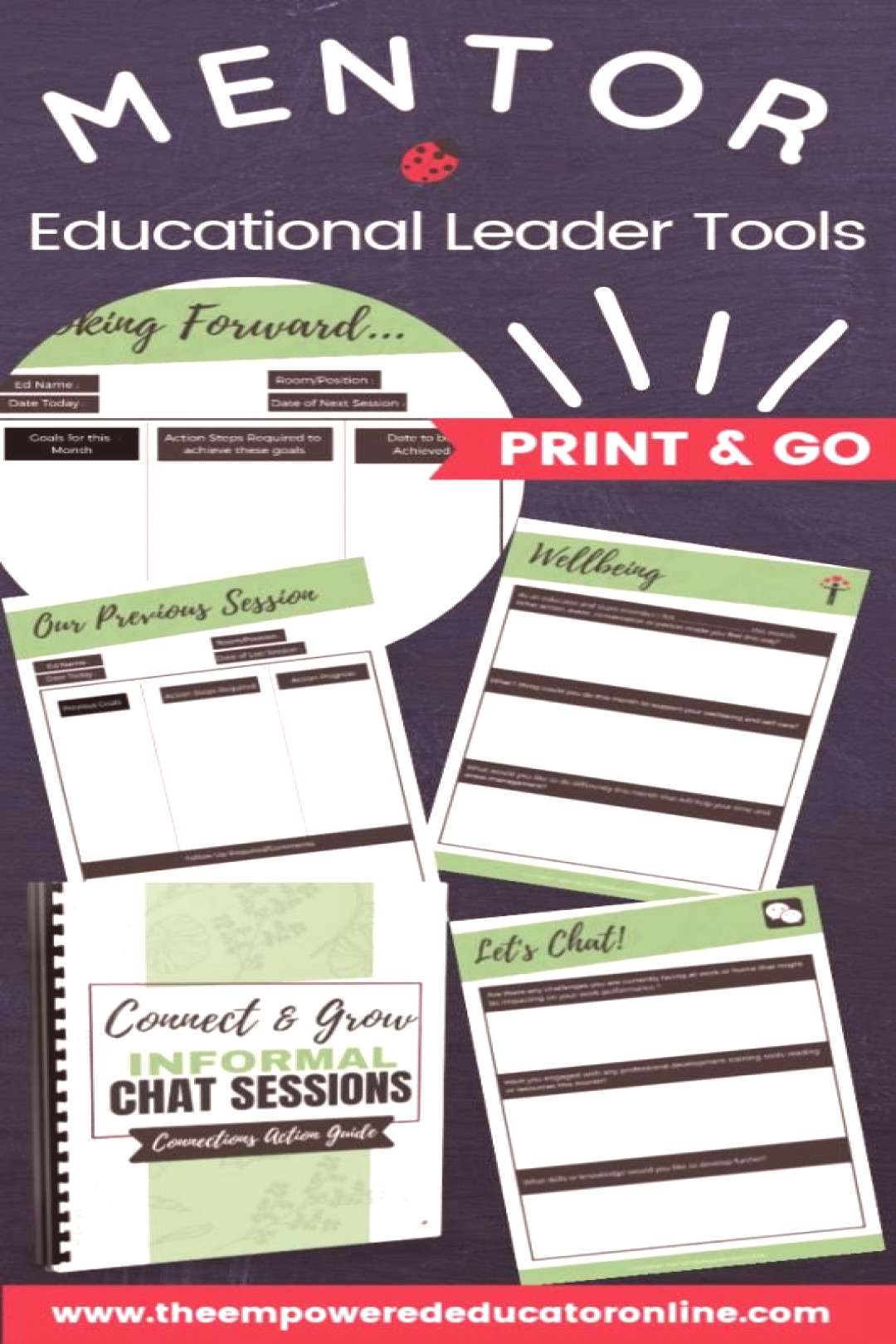 This guide gives early childhood Educational Leaders directors and coordinators the prompts templat