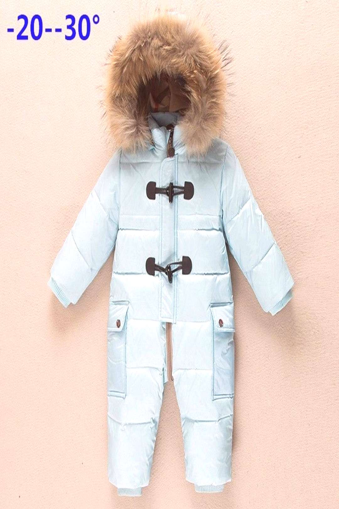 Winter newborn clothes childrens clothing winter outwear new year costume down jacket jumpsuit for